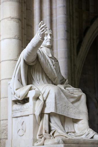 Preacher「Jacques-Benign Bossuet (1627-1704), Bishop of Meaux. Meaux Cathedral.」:スマホ壁紙(18)