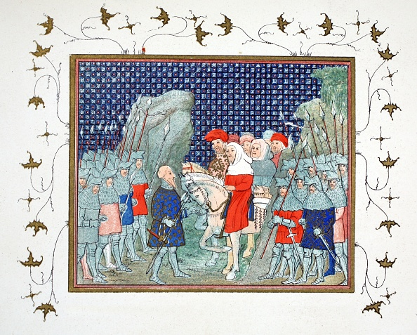 Chromolithograph「Richard Ii Betrayed At Penmaur Rhos And Taken Prisoner By The Duke Of Northumberland」:写真・画像(9)[壁紙.com]