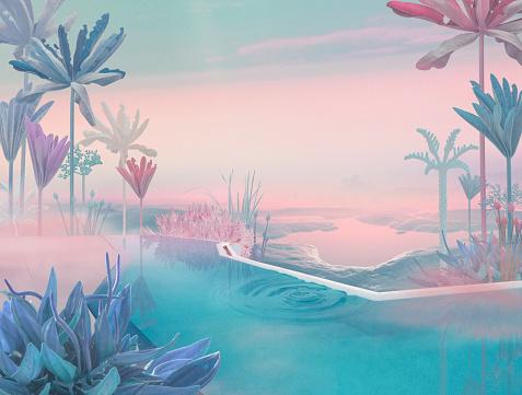 Imagination「Majestick pool」:スマホ壁紙(8)