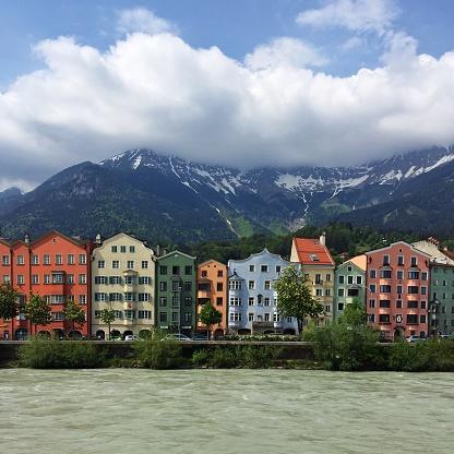 北チロル「Cityscape, Innsbruck, Tyrol, Austria」:スマホ壁紙(9)