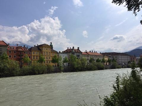 北チロル「Cityscape, Innsbruck, Tyrol, Austria」:スマホ壁紙(10)