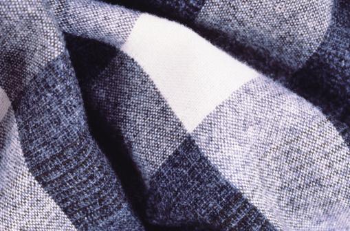Tartan check「Black and White Material」:スマホ壁紙(10)