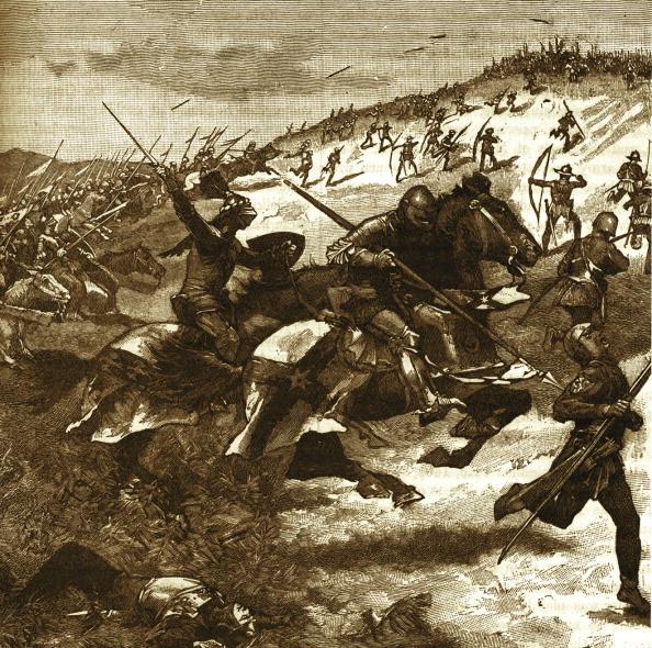 Circa 14th Century「Battle of Humbleton Hill - Scottish charge」:写真・画像(5)[壁紙.com]