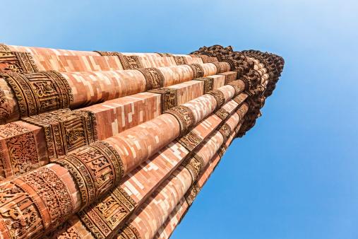 UNESCO「India, Delhi, View of Qutub Minar」:スマホ壁紙(18)