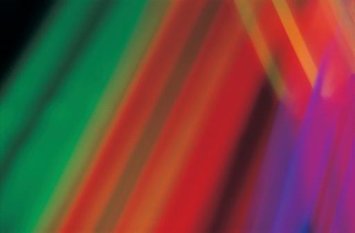 虹「Rays of spectral light」:スマホ壁紙(14)