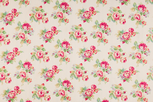 Floral Pattern「Cumberland Rose Medium Antique Floral Fabric」:スマホ壁紙(7)