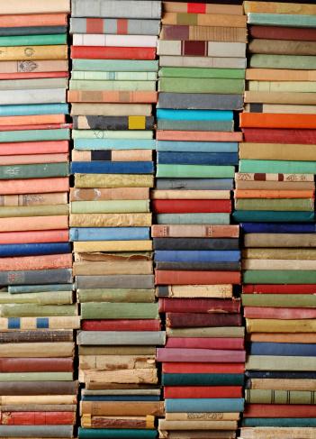 Manuscript「Wall of Antique Books」:スマホ壁紙(2)