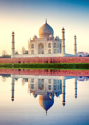 Taj Mahal「Taj Mahal Agra India」:スマホ壁紙(15)