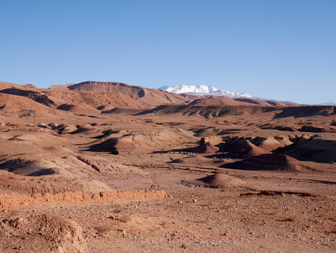 Atlas Mountains「Morocco, Ait Benhaddou in desert」:スマホ壁紙(3)