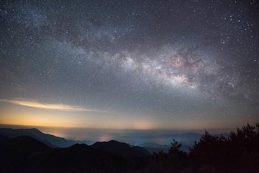 星空「A sky full of stars, Hangzhou/ China」:スマホ壁紙(5)