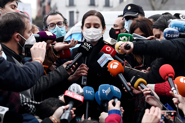Madrid「At Least Two Dead After Explosion Damages A Building In The Centre Of Madrid」:写真・画像(7)[壁紙.com]