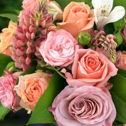 Bouquet「美しい花束のソフトな色調を備えております。」:スマホ壁紙(18)