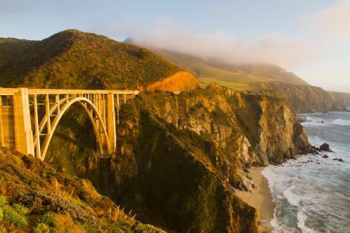Bixby Creek Bridge「Beautiful Bixby Bridge and Pacific Ocean」:スマホ壁紙(12)