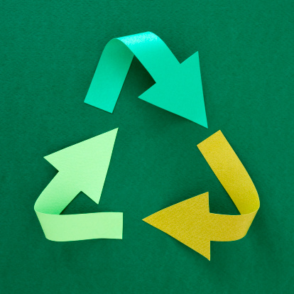 Recycling「Recycling symbol」:スマホ壁紙(4)