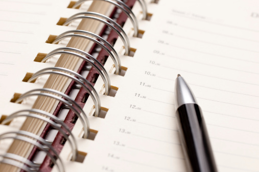 Diary「Agenda and pencil」:スマホ壁紙(7)