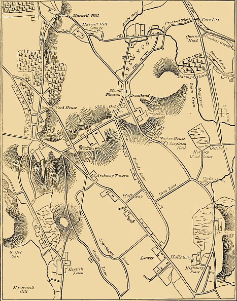 Full Frame「Map Of Hornsey And Neighbourhood In 1819」:写真・画像(5)[壁紙.com]