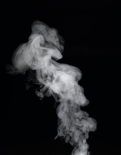 Vapour rising against dark background:スマホ壁紙(壁紙.com)
