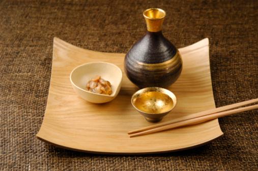 Sake「Sake and sea urchin with octopus」:スマホ壁紙(1)