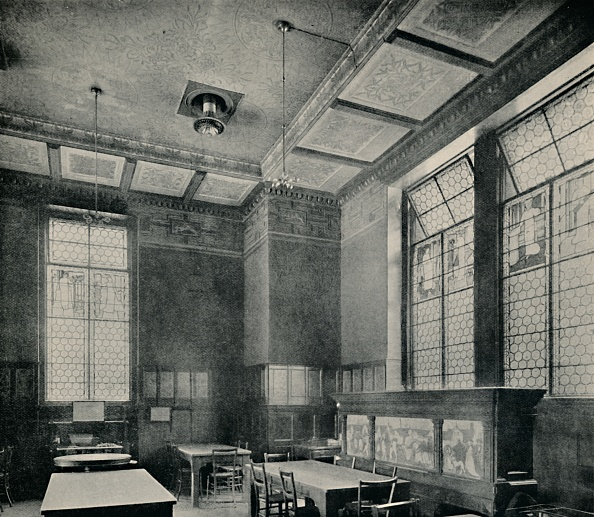 Dining Room「The Green Dining-Room At South Kensington Museum」:写真・画像(6)[壁紙.com]