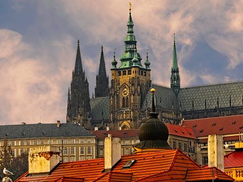 St Vitus's Cathedral「St Vitus Cathedral Prague」:スマホ壁紙(5)