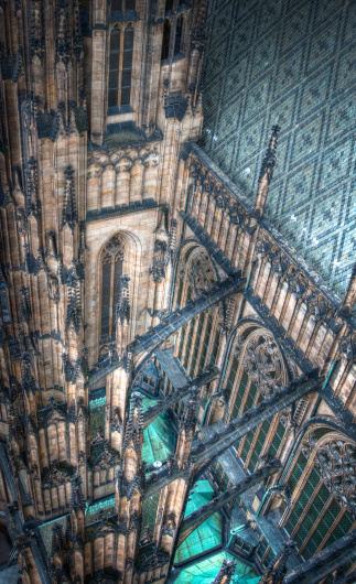 St Vitus's Cathedral「St. Vitus Cathedral, Prague」:スマホ壁紙(0)