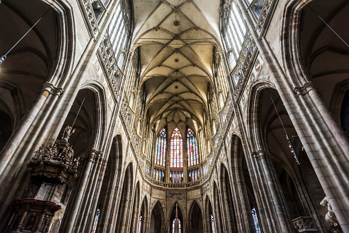 St Vitus's Cathedral「St. Vitus Cathedral, Prague Castle Complex」:スマホ壁紙(15)