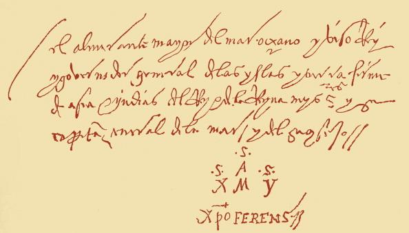 Christopher Columbus - Explorer「Christopher Columbus' letter」:写真・画像(18)[壁紙.com]