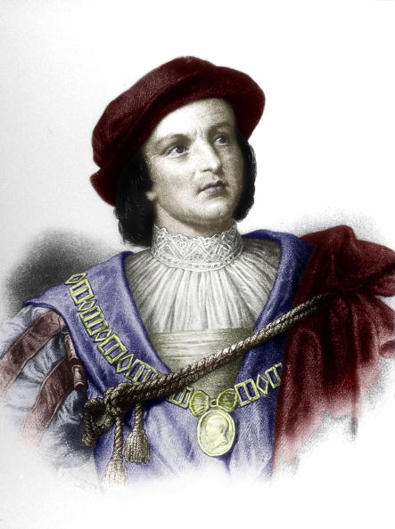 Christopher Columbus - Explorer「Christopher Columbus (1451-1506) italian explorer who discovered new World in 1492, engraving (19th century) colorized document」:写真・画像(2)[壁紙.com]