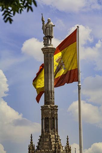 Christopher Columbus - Explorer「Christopher Columbus,Cristobal Colon Monument in Plaza colon, Madrid」:スマホ壁紙(11)