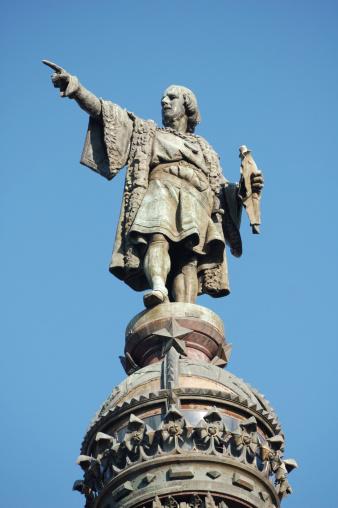 Christopher Columbus - Explorer「Christopher Columbus Monument, Barcelona」:スマホ壁紙(4)