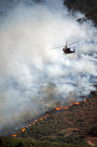 Battle「Helicopters Fighting California Wildfire」:スマホ壁紙(15)