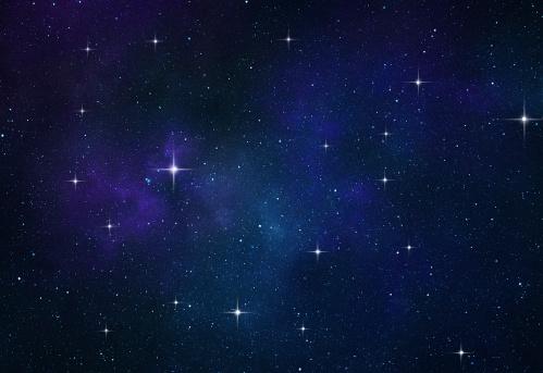 星空「スペースの背景」:スマホ壁紙(9)