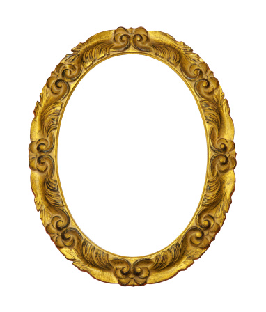 Carving - Craft Product「Gilded Wooden Frame」:スマホ壁紙(9)
