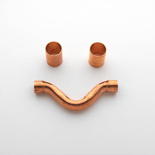 funny faces made with  copper connectors:スマホ壁紙(壁紙.com)