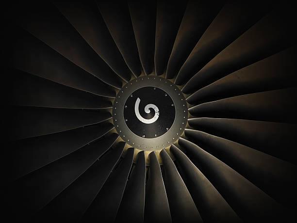 Jet airplane engine turbine:スマホ壁紙(壁紙.com)