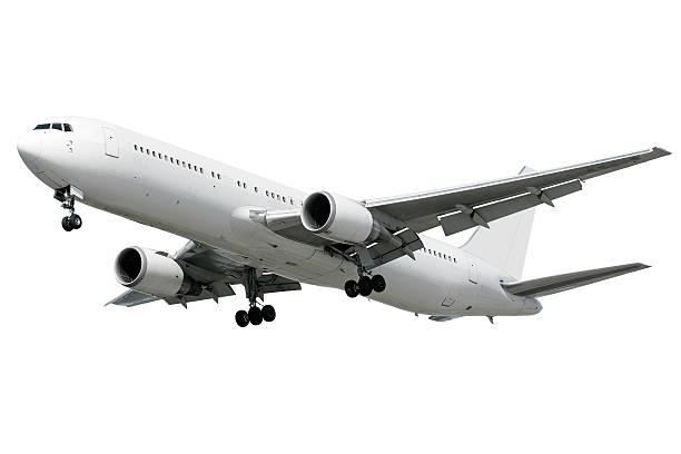 XXL jet airplane landing on white background:スマホ壁紙(壁紙.com)