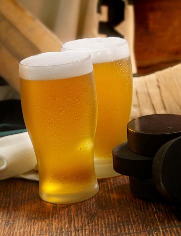 Hockey「Beer and Hockey」:スマホ壁紙(1)