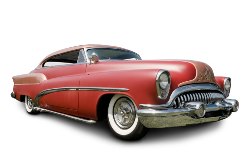 Hot Rod Car「Early 1950s Buick Automobile」:スマホ壁紙(8)