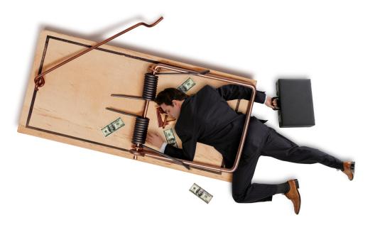 雪「Business Man Caught in a Trap」:スマホ壁紙(6)