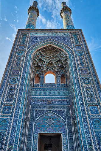 Yazd「Jameh Mosque of Yazd, Iran」:スマホ壁紙(17)
