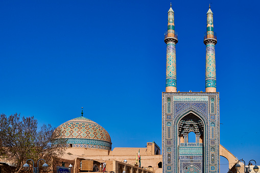 Iranian Culture「Jameh Mosque of Yazd, Iran」:スマホ壁紙(18)