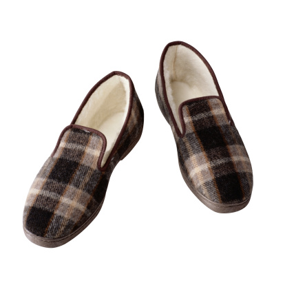 Tartan check「Pair of Slippers」:スマホ壁紙(7)