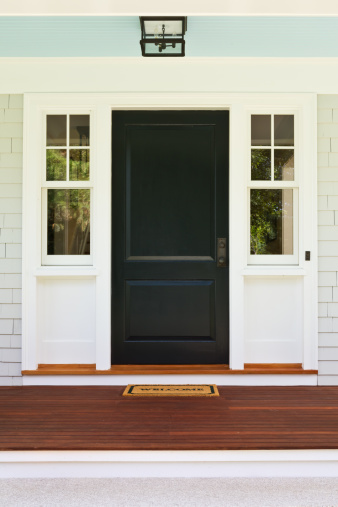 Front Door「Front entrance to custom built home」:スマホ壁紙(10)
