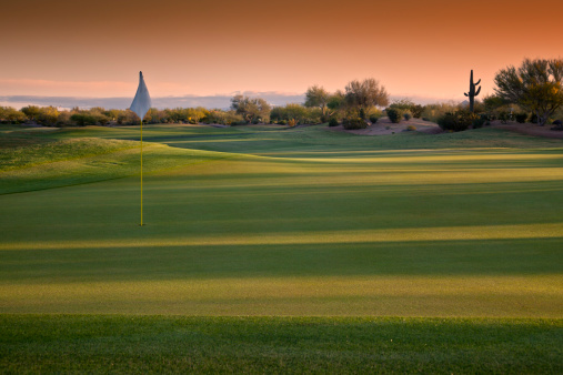 Moody Sky「Arizona Golf Course at Sunrise」:スマホ壁紙(14)