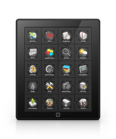 Touch Screen「tablet apps」:スマホ壁紙(6)