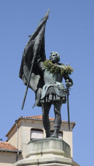 Ferrari「Segovia - Spain - Monumento of Juan Bravo」:スマホ壁紙(5)