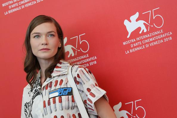 Hannah Gross「The Mountain Photocall - 75th Venice Film Festival」:写真・画像(12)[壁紙.com]