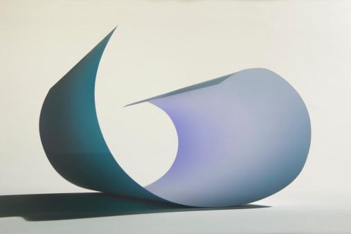 Paperwork「Curved Sheet of Paper」:スマホ壁紙(18)