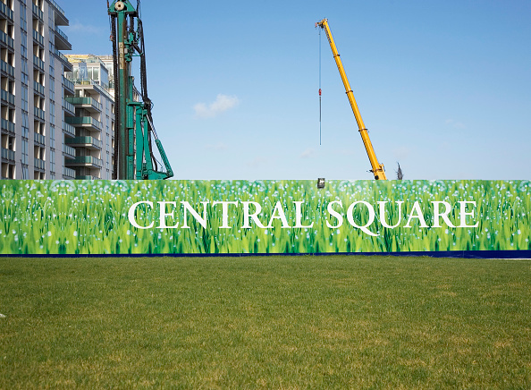 Grass Family「Central Square mixed-use development, Spencer Dock, Dublin development 2008」:写真・画像(1)[壁紙.com]