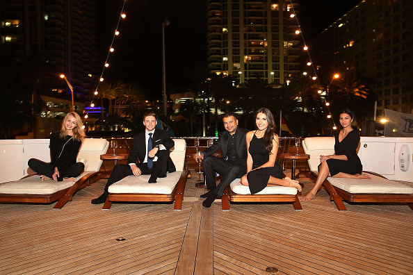 Aaron P「Haute Time & Louis XIII Cognac Host A Collectors Dinner To Kick Off Miami International Boat Show With A Special Presentation By F.P. Journe Aboard MY USHER Yacht」:写真・画像(14)[壁紙.com]